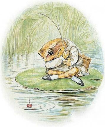 The Tale of Mr. Jeremy Fisher by Beatrix Potter