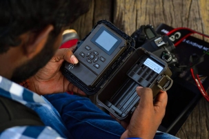 The inner workings of a trail camera